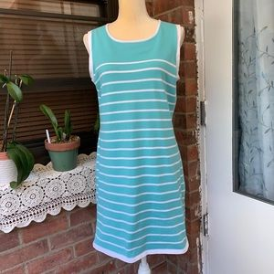 SAIL TO SABLE STS $148 Ponte Stretch light Blue.